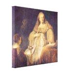 Rembrandt Van Rijn - la taza de veneno Lienzo Envuelto Para Galerías