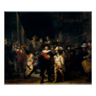 Rembrandt Van Rijn, The Night Watch Poster