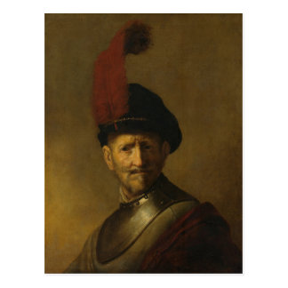 Rembrandt's father, Gerrit Rembrandt, 1634 Postcard