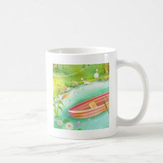 reme su barco taza de café