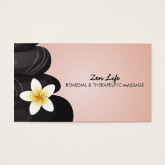 Remedial & Therapeutic Massage Business Card