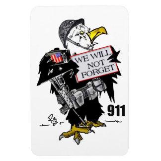 Remember 911 magnet