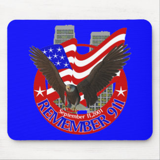 Remember 911 mouse pad