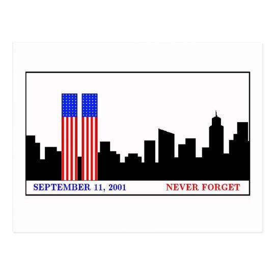 Remember 9-11-01 postcard