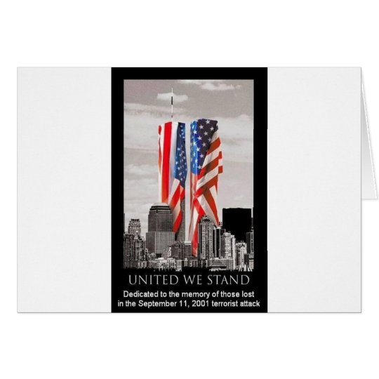 Remember 9/11 card
