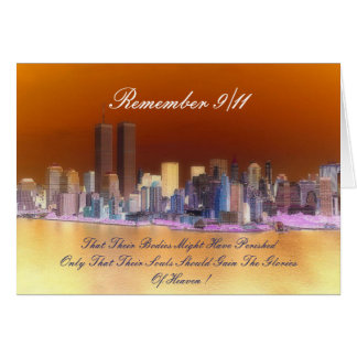 remember 9/11 greeting cards