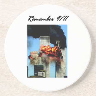 Remember 9/11 drink coaster
