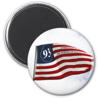 Remember 9/11 - Flight 93 2 Inch Round Magnet