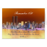 remember 9/11 greeting card