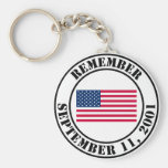 Remember 9/11 keychain