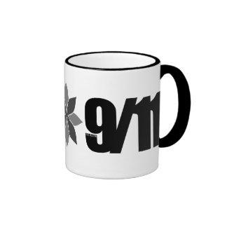 remember 9/11 ringer coffee mug