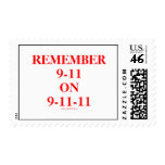REMEMBER 9-11 ON 9-11-11 Commemorative Stamp