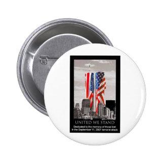 Remember 9/11 pinback button