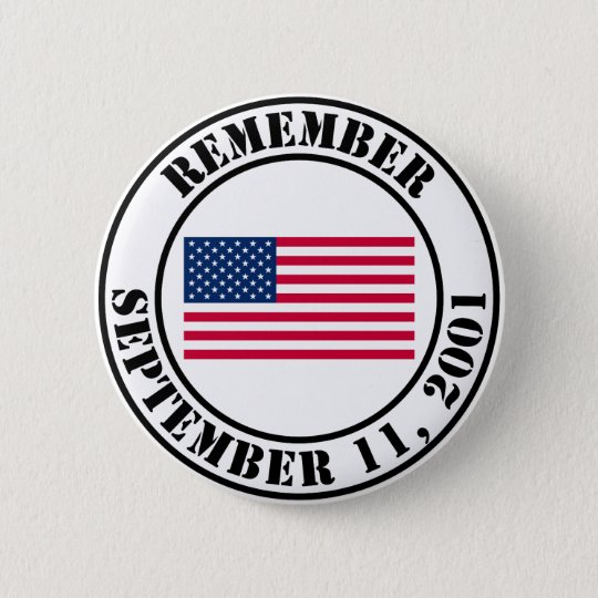 Remember 9/11 pinback button
