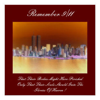remember 9/11 poster