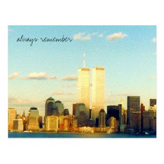 remember always postcard