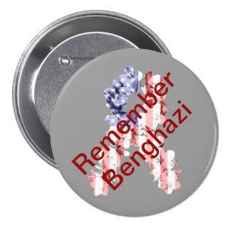 Remember Benghazi Pinback Button