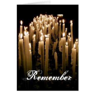 Remember Card