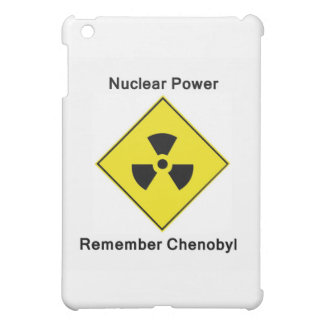 Remember Chenobyl Anti Nuclear Logo Cover For The iPad Mini