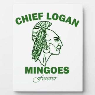 Remember Chief Logan High School Photo Plaque