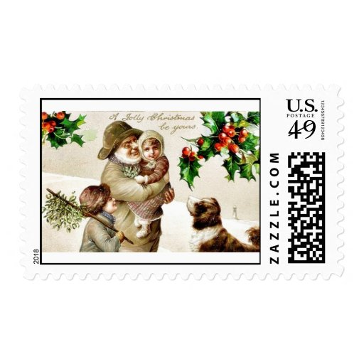 Remember Christmas Postage Stamps