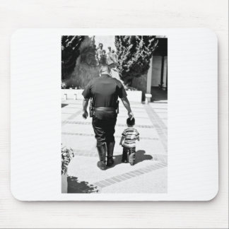 Remember Cops Care Mouse Pad