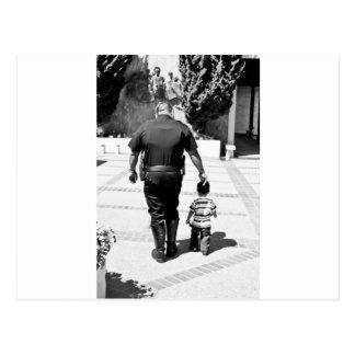 Remember Cops Care Postcards