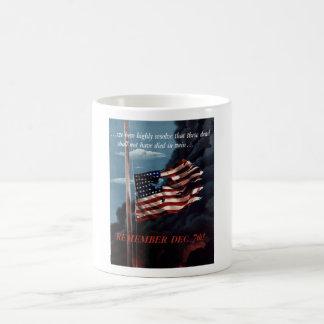 Remember December 7th Coffee Mug
