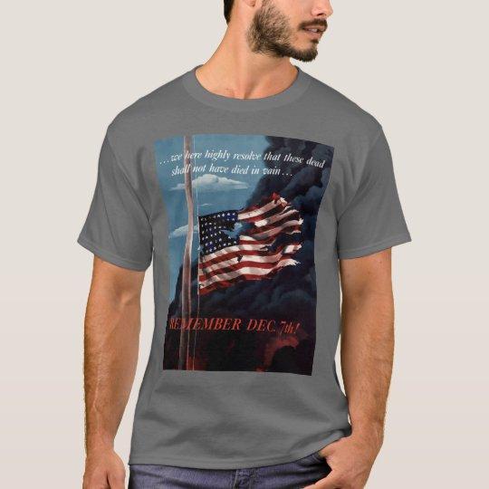Remember December 7th T-Shirt
