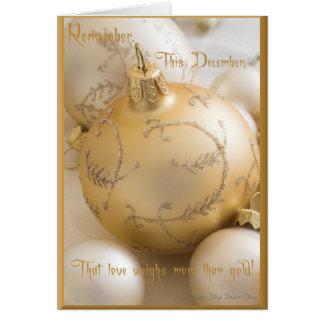 Remember December Card