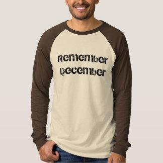 Remember December T-shirt
