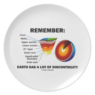 Remember: Earth Has A Lot Of Discontinuity Plate