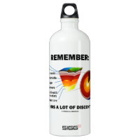 Remember: Earth Has A Lot Of Discontinuity SIGG Traveler 1.0L Water Bottle