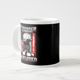 Remember Everyone Deployed Red Friday or every day Large Coffee Mug