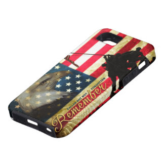 Remember...Fallen but not forgotten Memorial iPhone SE/5/5s Case