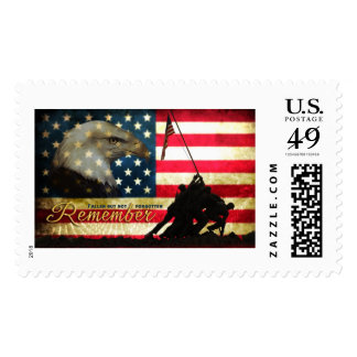 Remember... Fallen but not forgotten Memorial Postage