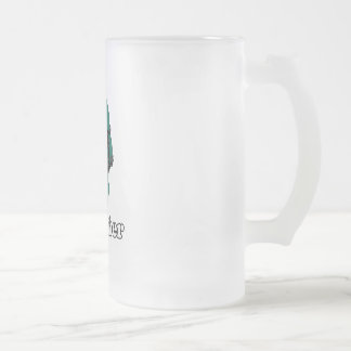 Remember Frosted Glass Beer Mug