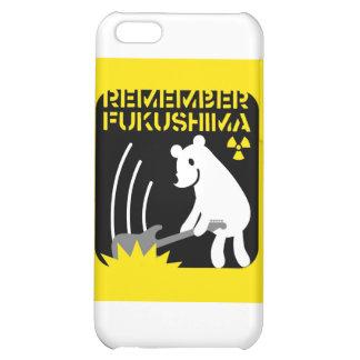 REMEMBER FUKUSHIMA iPhone 5C CASES