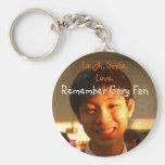 Remember Gary Fan Key Chains