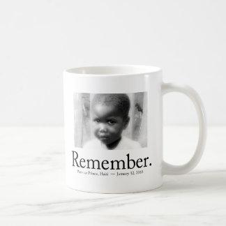 Remember Haiti Children Coffee Mug