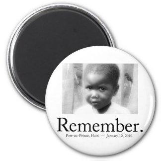 Remember Haiti Children Fridge Magnets