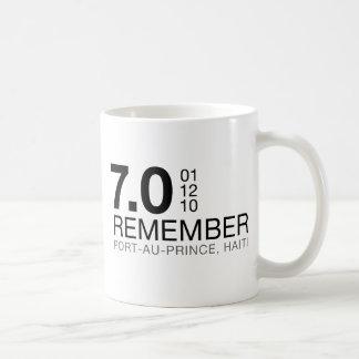 Remember Haiti Victims - 7.0 Earthquake Coffee Mug