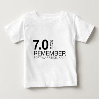 Remember Haiti Victims - 7.0 Earthquake Shirt