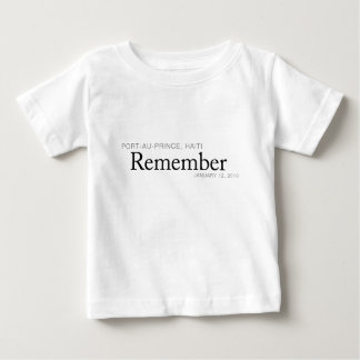 Remember Haiti Victims - Port-au-Prince Earthquake T-shirt