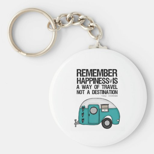 remember happiness keychain