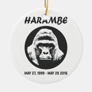 Remember Harambe Ceramic Ornament
