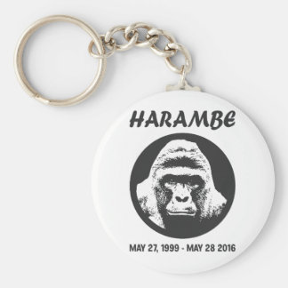 Remember Harambe Keychain