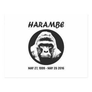 Remember Harambe Postcard