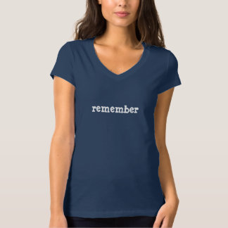 REMEMBER Inspired Attire T-Shirt