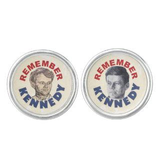 Remember Jack & Bobby Kennedy Cufflinks
